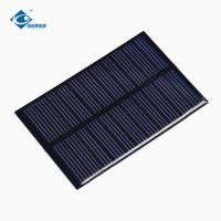 Buy cheap 0.75W Epoxy Resin Solar Panel ZW-84556 PCB Board Lightweight Silicon Solar PV product