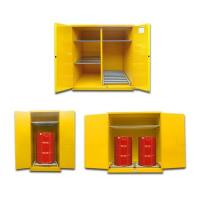 Buy cheap Cold Rolling Steel Oil Drum Storage Cabinets 1650*1500*860mm For Flammable Liquids product
