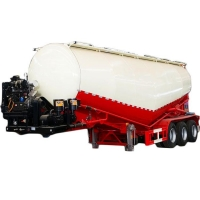 Buy cheap 2 Alex 3 Alex V Type Used Cement Bulk Semi Trailer from wholesalers