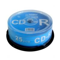Buy cheap Blank CD-R 700MB 80MINS in 25pcs cake box package product