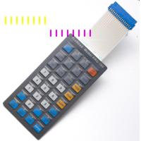 Buy cheap Custom Membrane Keypad Graphic Overlay With Electronic White Board Curcuit from wholesalers