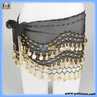 Buy cheap New Fashion Belly Dancing Waist Chain with 128 Golden Coins -11001400 from wholesalers