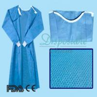 Buy cheap Non sterile PP isolation gown disposable non woven surgical gown from wholesalers