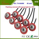 Buy cheap 48w Multi color Flashing LED signal warning light for ATV,UTV, SUV, Buggy, Rhino, RZR from wholesalers