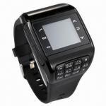 Buy cheap Q8 Watch Phone, Dual SIM/Quadband/1.4 Touchscreen/2.0MP/Bluetooth/GPRS/MP34/Sound Recorder/FM Radio from wholesalers