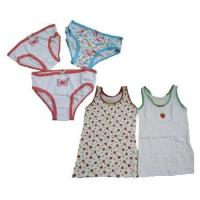 Buy cheap Stock Girls Vest & Briefs from wholesalers