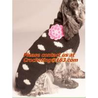 Buy cheap winter turthleneck Knit Pet dog sweater, pet dog clothes free knitting pattern, dog sweate from wholesalers