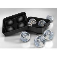 Buy cheap Cutomized Four 2 Inch silicone ice ball mold / mould  Pantone color from wholesalers