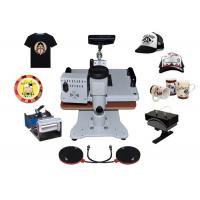 Buy cheap 8 in 1 Professional Digital Transfer Sublimation Heat Press Machine Hat / Plate / Cap from wholesalers