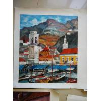 Buy cheap 100% Hand-Painting Landscape Oil Painting from wholesalers