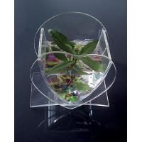 Buy cheap Heart Shaped Clear Polishing Custom Acrylic Fish Tank For Family House product