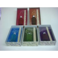Buy cheap glass reed diffuser set in handmade box product