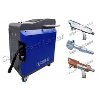 Buy cheap Mini Style Handheld Laser Cleaning Machine , Portable Rust Removal Laser from wholesalers