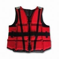 Buy cheap Marine Life Jacket with Winboss PVC Foam Padding, Made of PU-coated 210D Oxford from wholesalers
