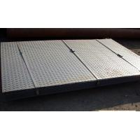 Buy cheap Checkered Galvanized Steel Sheet In Coil , Metal Sheet Roll Hot Dipped from wholesalers