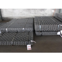 Buy cheap Petrochemical  65Mn Flat Topped Crimped Quarry Screen Mesh from wholesalers