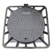 Buy cheap En124 Ductile Iron Manhole Cover (850X850mm) (DN600) from wholesalers