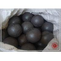 Buy cheap High Chrome Cast Iron Casting Steel Ball , Forged Steel Ball Grinding from wholesalers