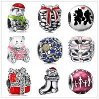 Buy cheap Guangdong jewelry factory sterling silver 925 pandora beads bracelet for Christmas from wholesalers