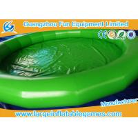 Buy cheap Fire Retardant PVC Tarpaulin Large Inflatable Pool For Inflatable Water Roller from wholesalers