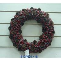 Buy cheap 16inch berry wreath from wholesalers