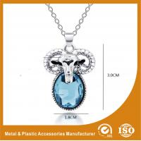 Buy cheap Zinc Alloy Stainless Steel Chain Necklace With Sheep Pendant from wholesalers