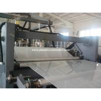 Buy cheap PP Cover Or Folder Sheet Making Machine , Plastic Soft Plate Extruder product