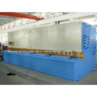 Buy cheap 6m Length Electric Hydraulic Shearing Machine Metal Sheet Cutting Tools 15KW Power from wholesalers