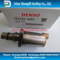 Buy cheap DENSO 8980436870 Fuel Pressure Regulator / suction valve SCV 8-98043687-0 , 294200-0650 , 2942000650 from wholesalers