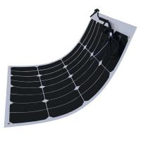 Buy cheap 60W Flexible Solar Panels For Motorhomes , Sunpower Solar Cells Virtually Unbreakable from wholesalers