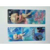 Buy cheap Frozen Design PET 3D Lenticular Bookmarks For Christmas 152 X 57 MM Size product
