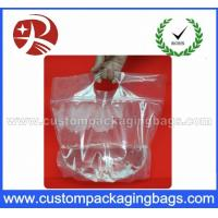 Buy cheap Laminated Custom Printing Plastic Ziplock Waterproof Transparent Bags With Bottom gusset from wholesalers