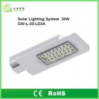 Buy cheap DC12V Outdoor Solar Powered LED Street Lights 30W IP65 With 8 Years Warranty product