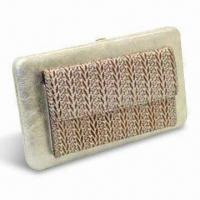 Buy cheap PU Leather Women's Wallet, Customized Materials and Colors are Accepted from wholesalers