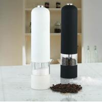Buy cheap White or black household small Stainless Steel Pepper Mill, grinders from wholesalers
