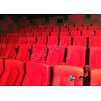 Buy cheap Frequency Vibration Effect Red Movie Theater Seats / Chairs Easy Installation product