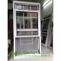 Buy cheap Double Hung Tilt Aluminum Alloy Windows With Blue Reflective Glass And Insect Screens from wholesalers