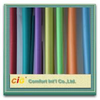 Buy cheap Woven Vinyl PVC Clear Sheet Chenille Style Soft Felling For Package product