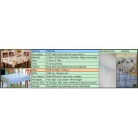 Buy cheap PVC Table Cloth with Non-woven Back Quotation from wholesalers