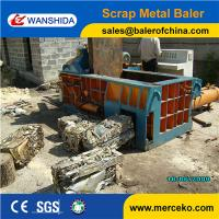 Buy cheap Full Automatic Hydraulic Metal Baler For Scrap Metal Baling Press Into Bales Y83/T-125Z from wholesalers