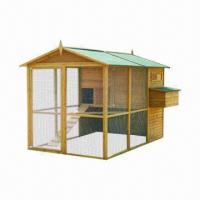 Buy cheap Chicken House/Large Wooden Chicken Coop, Measuring 279 x 185 x 188cm from wholesalers