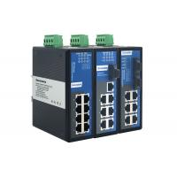 Buy cheap DIN Rail Mounting 8 Port Gigabit Switch With Low Power Consumption from wholesalers