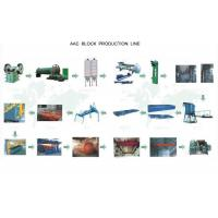 Buy cheap AAC Autoclaved Aerated Concrete Block Machine For Tailing Sand Block product