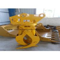 China CAT / PC / SK / EX Excavator Rotating Grapple Mini Digger Log Grab High Durability on sale