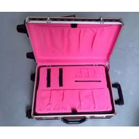 Buy cheap Multipurpose Detachable Hand Trolley Beauty Case , ABS Panel Flight Case Trolley from wholesalers