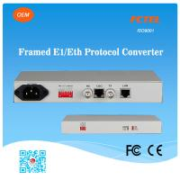 Buy cheap FCTEL E1 to 4 Channels 10/100Base-T Ethernet SNMP Managed Protocol Converter from wholesalers