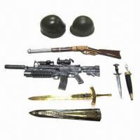 Buy cheap 1/6th Loose Part/Custom 12-inch Action Figure Weapons/Accessories, Made of Plastic and Metal from wholesalers