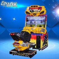 Buy cheap 1 Player Race Car Amusement FF Moto Arcade Racing Game Machine 251W from wholesalers