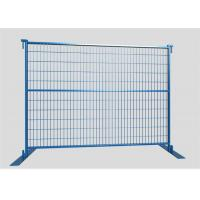 Buy cheap 1.8mx2.4m Canada standard construction site fencing / temporary metal fencing product