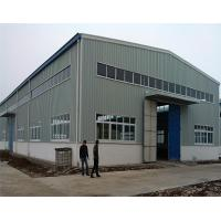 Buy cheap Multi Span Prefabricated Steel Structure Industrial Prefab Factory Building from wholesalers